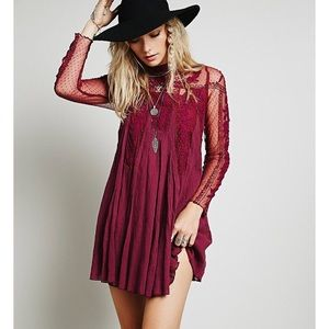 "NWOT FREE PEOPLE ""Write about love"" dress Small"